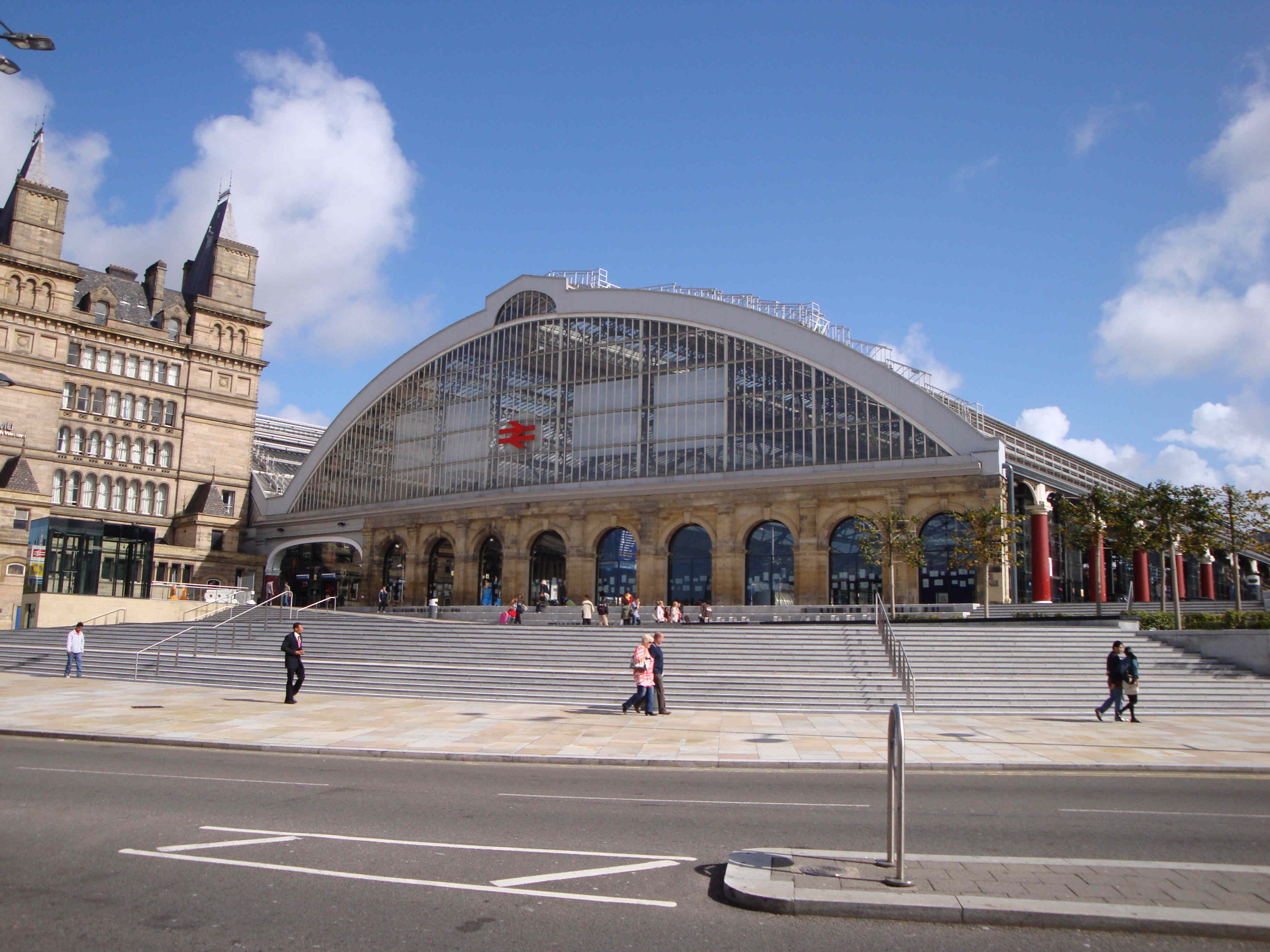 Lime Street Station.